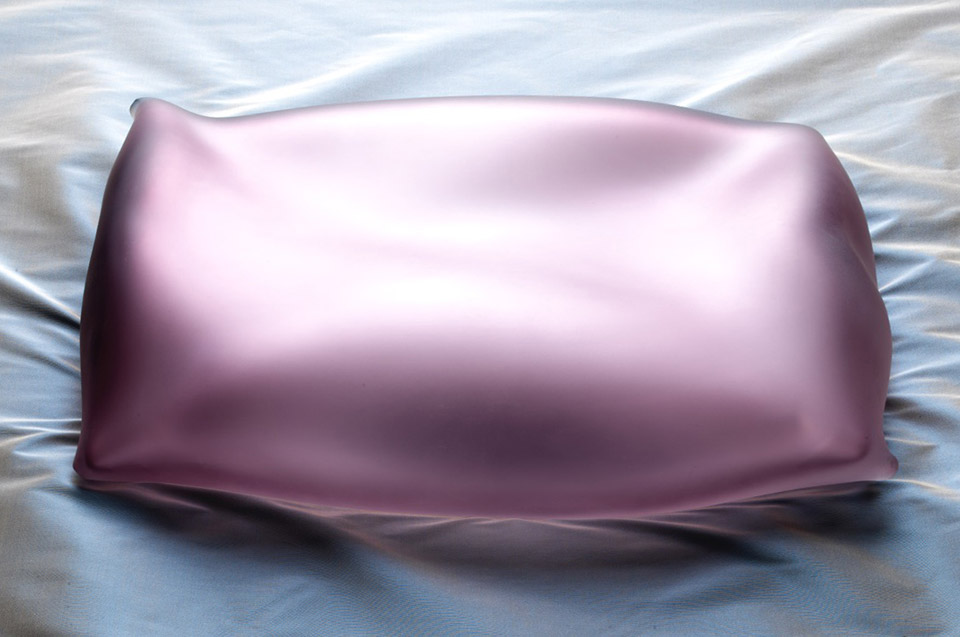 KARMA - venetian glass pillow
